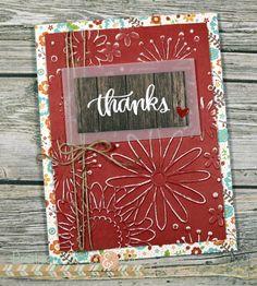 Thanks Card | SSS Thankful Heart Card Kit