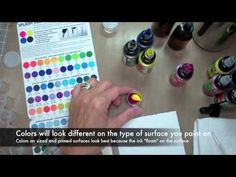 How to Mix and Store Splash Ink