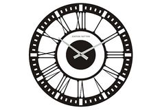 Classic Glass Wall Clock
