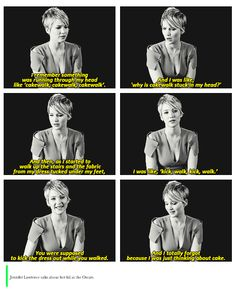 Ladies and gentleman, one of the most popular actresses in Hollywood. I love her.