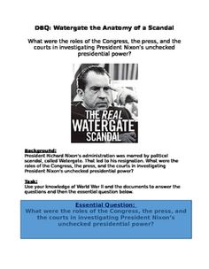 president nixons watergate scandal essay Nixon, including summary, analysis, meaning, main idea, and more  nixon  protested his innocence in the watergate affair and took his case to the american .