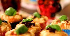 Muffinshysteri, matiga och smaskiga muffins till middag och efterrätt.
