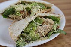 Chicken Caesar Pita's
