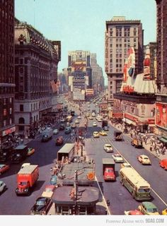 ˚Times Square - New York City 1955