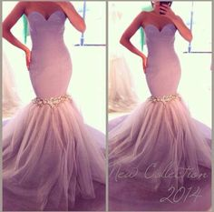 Sooooo pretty! Especially for an engagement or maid of honor dress ❤️