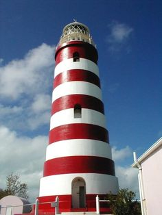 Hopetown, Abacos, Bahamas-We climbed up to the top of this lighthouse. Awesome view!