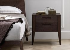 Novamobili Giotto Bedside Cabinet £750 wood only