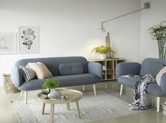 Eira Sofa designed by NokoAnna and developed by Brunstad. Style Blog, Sofa Design, Furniture Design, Mod Living Room, Design Blog, Smart Design, Architecture, Mid-century Modern, Love Seat