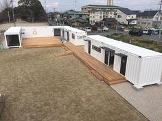 福岡県にコンテナハウスの『大川テラッツァ』オープン!   コンテナハウスのBOX OF IRON HOUSE