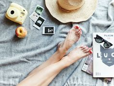 Barefoot and dreaming...  Created by @erinloechner for #instax