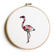 Heading to the US for the day for some pre-travel shopping, because that's a thing, right Flamingo is available on Etsy now and a few more new pieces will be added early next week