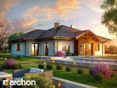 Dom w jonagoldach (G2) - wizualizacja 1