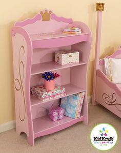 Kid Kraft Princess Bookcase - 76126