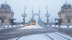 Balog János Bridge covered with snow | Flickr - Photo Sharing!