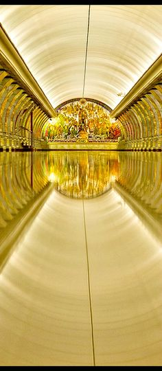 Travelling - Moscow, Russia - Moscow subway