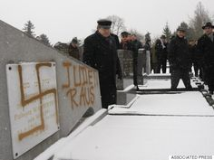 France-Cemetery Desecrated