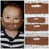 Beard Pattern - via @Craftsy