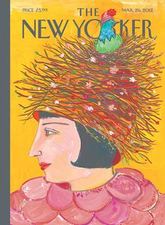 New Yorker cover illustration by Maira Kalman, via afternoon pity party