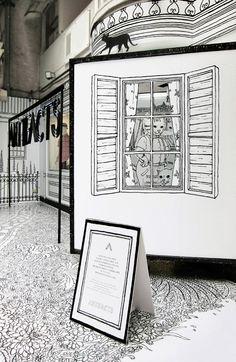 Drawing Shopwindow : A Fairy-tale World_009