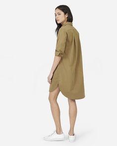 af6323b57d4 The Twill Shirt Dress - Everlane Shirt Dress