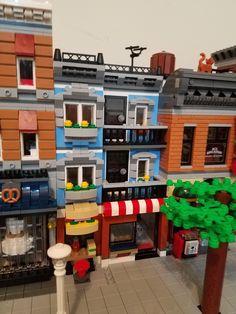 A Deli MOC using Lego Corner Deli