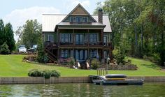 Someone who knows the pros and cons of a Georgia Power lease, a private lease and a deeded lake lot. Description from jacksonlakehouses.com. I searched for this on bing.com/images