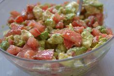 Ma Salade d'Avocats spéciale Barbecue - Le Dessert du Dimanche