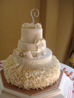 Glam Wedding Cake — 2011 Glamorous Wedding Cake Contest