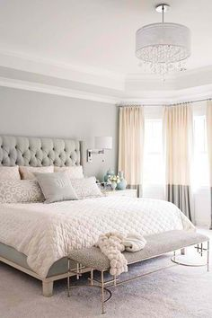 #HomeOwnerBuff white bedroom