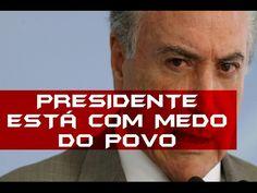 MICHEL TEMER COM MEDO DOS BRASILEIROS!! ENTREVISTA COMPLETA ( RECADO D C...