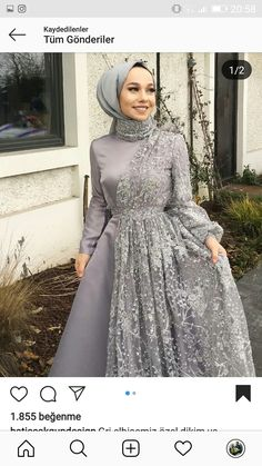 Hijab Engagement Models 2020 - in 2020 Hijab Engagement Models 2020 - in 2020 Hijab Prom Dress, Hijab Style Dress, Hijab Wedding Dresses, Muslim Dress, Dress Outfits, Dress Wedding, Dresses Dresses, Party Dresses, Dresses Online