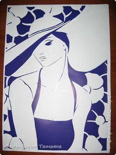 Картина панно рисунок Вырезание Вырезалки Бумага фото 1