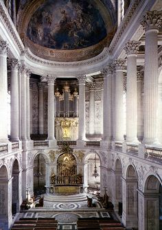 The Royal Chapel, Versailles.