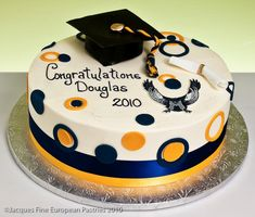 Graduation Party Cake and Cupcake Decorating Ideas