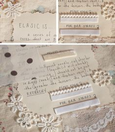 [Scrapbook It: What is Elastic?] Types of elastic & tips for sewing with it.
