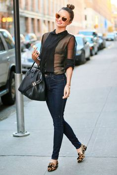 Aussie Miranda Kerr is both a VS Angel and street style maven
