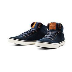 JACK & JONES Suede High Top Shoes
