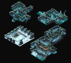 Winter Shrine by on DeviantArt Game Environment, Environment Design, Isometric Map, Background Tile, 2d Game Art, Pixel Animation, Game Concept Art, Environmental Art, Cartoon Styles