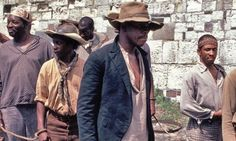 "Another  film still from genious Gordon Parks's 1984 ""Solomon Northup's Odyssey"""