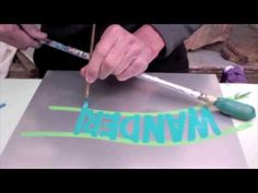 """""""PIN STRIPING & HAND PAINTED SIGN TECHNIQUES"""" - YouTube"""