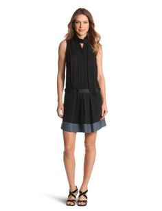 G-Star Women's Rct Patin Scarf Dress, Black