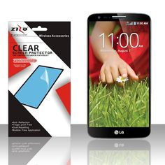 Zizo Screen Protector for LG G2 (All Carriers) - Clear