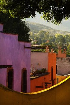 I want to look out my window and see this every morning..... San Miguel de Allende, Mexico