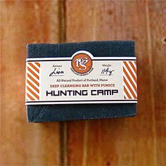 Hunting Camp Soap. $12.95