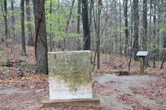 On Cheatham Hill, the Kennesaw Mountain Battlefield is this stone marker to a fallen Indiana soldier.  As the stone reads:  C.H.Coffey  First sergeant commanding Co. I, 22nd Ind. Vol. Inf. Mortally wounded at this place June 27. Died June 29, 1864 and buried here. Afterwards buried in Marietta National Cemetery.