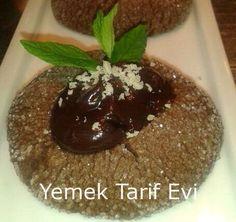 Çikolata Soslu Elmas Kurabiye Tarifi Görünümüyle kendisine hayran bıraktıran nefis kurabiye... #chocolate #cookies #recipe #elmas #kurabiye #tarif #yemektarifevi
