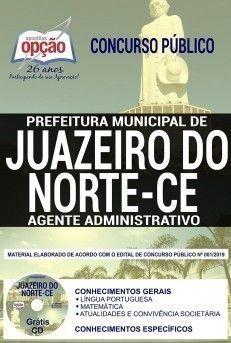 Apostila Agente Administrativo Concurso Prefeitura De Juazeiro