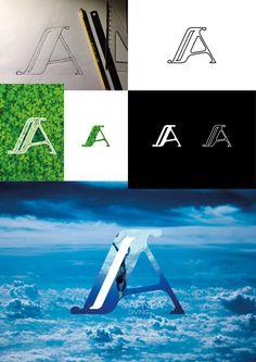 #Lettering #Capital #Letters experiment...