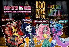 All about Monster High: Boo York Boo York!!