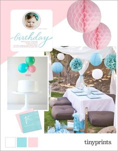 Babies First  Birthday Party Ideas #ontheblog